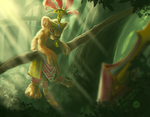 Baby Anhur - SMITE fanart by aasterath