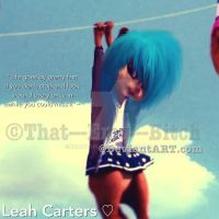 Leah is officially single by IDAH0-SPUD