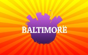Baltimore City - Wallpaper by woobiee