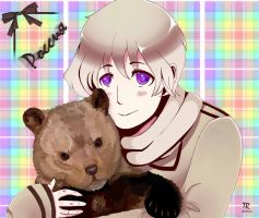 Ivan with bear by Temari-Kun18