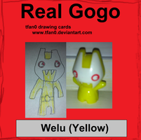 Welu - Yellow (Tfan0 Drawing Card #12) by tfan0