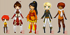Adoptables 3 || Fall || Open by LostAdopt