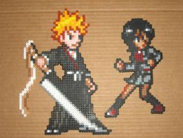 Bleach Ichigo and Rukia 01 by zaghrenaut