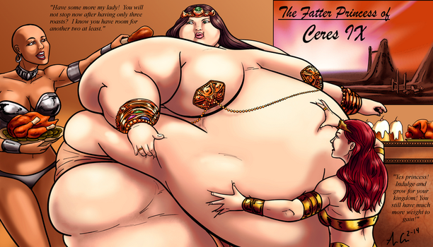 The Fatter Princess of Ceres IX by Ray-Norr