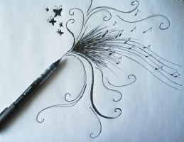 my pen exploded... by Horace-Bulregard