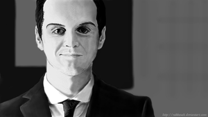 Jim Moriarty by Rakkasah