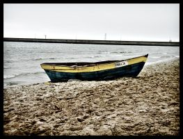 Lonely Boat by riser