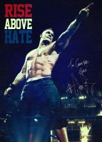 Rise Above Hate poster by Photopops