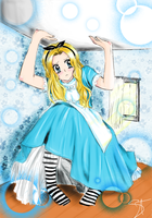 Alice in Wonderland by me! by Sakuracchi94
