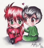 Request- chibi love by hesxmyxinu