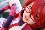Grell in Wonderland - 1 by HoneydewLoveCosplay