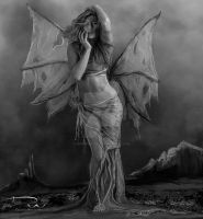Storm Angel-P and B by DeniseWorisch