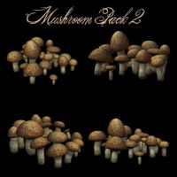 Mushrooms Pack 2 by zememz