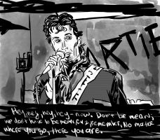 Hey-now don't be mean-Buckaroo Banzai for Inktober by CapFlash