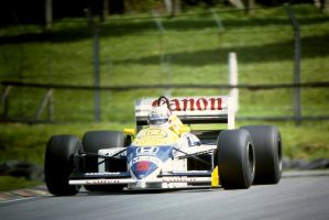 Nigel Mansell (Great Britain Tyre Test 1986) by F1-history
