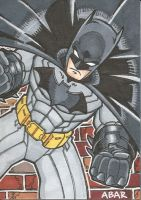 Nerw 52 Batman Sketch Card by chicagogeekdad
