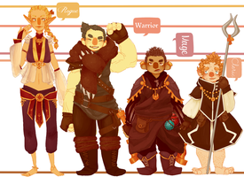 Lineup by jamknight