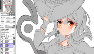 Megumin Paint WIP by Fhilippe124