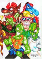 TOXIC CRUSADERS TROMA by theoeffects