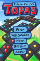 main menu for Topas by monterxz