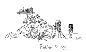 Creative Problem Solving by death-g-reaper
