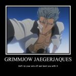 Grimmjow Jeagerjaques Poster by kissimmeebabe48