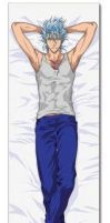 Grimmjow Body Pillow by DarkOverlord13
