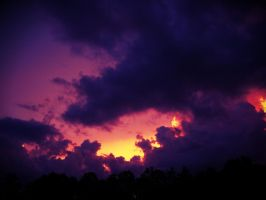 Purple Skies by CyanideAssassin