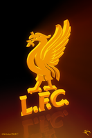 Illuminated Liverbird by kitster29