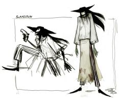 Scarecrow - Sketch Concept by liline