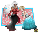 Rosalyn and Serinia by BrownieTheif