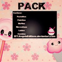 PACK Cositoooos Lindoooos:3 by AngelaEditions