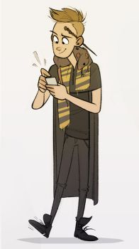 Hufflepuff by CoconutMilkyway