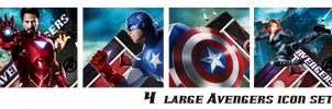 The Avengers Icon set by VaL-DeViAnT