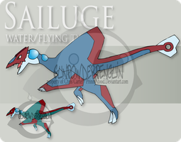 Fake Pokemon - Sailuge by Prinny-Dood