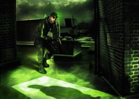 Sam Fisher from Splinter Cell by LoneSniperFox