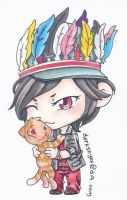 Copic - Sungjong Man in Love by trace-xing