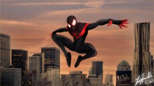 Miles morales wallpaper by ginovanta