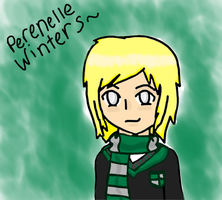 Perenelle Winters Colored Version by DCFangirl01