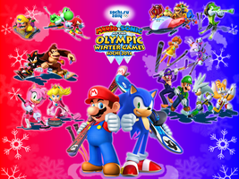 Mario and Sonic at the Sochi 2014 OWG by 9029561