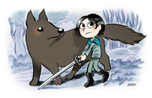 Arya Stark (Game of Thrones). by bloglaurel