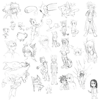 2009 Sketches by hydrowing