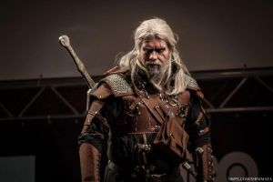 Geralt of Rivia by TheSolidSnak3