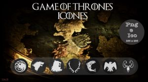 Game of Thrones - Pack icon by Lia-H