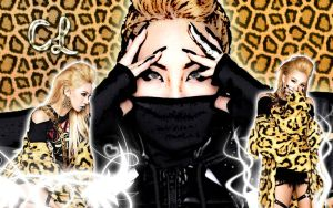 Wallpaper CL Crush ver by RainboWxMikA