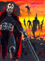 Vlad the Impaler by avix