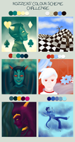 Homestuck'd Colour Challenge by Elistanel