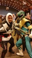 assassin and the green ranger lfcc 2014 by marty0x