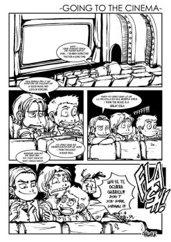 Going to the cinema Pg 1 by lpspalmer