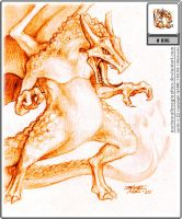 006 Charizard by Nocturnalimagination